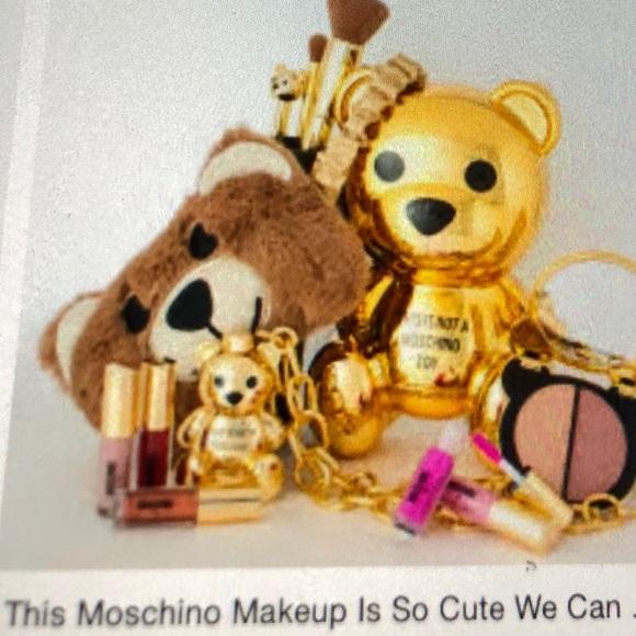 Sephora Other - Moschino X Sephora Limited Edition Teddy Bear